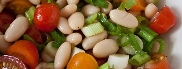 salataka z fasoli