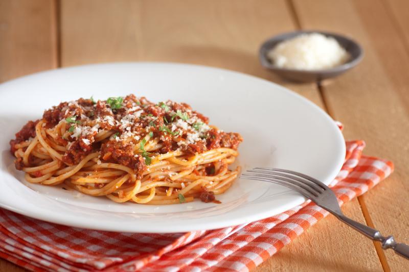 Dietetyczne spaghetti bolognese