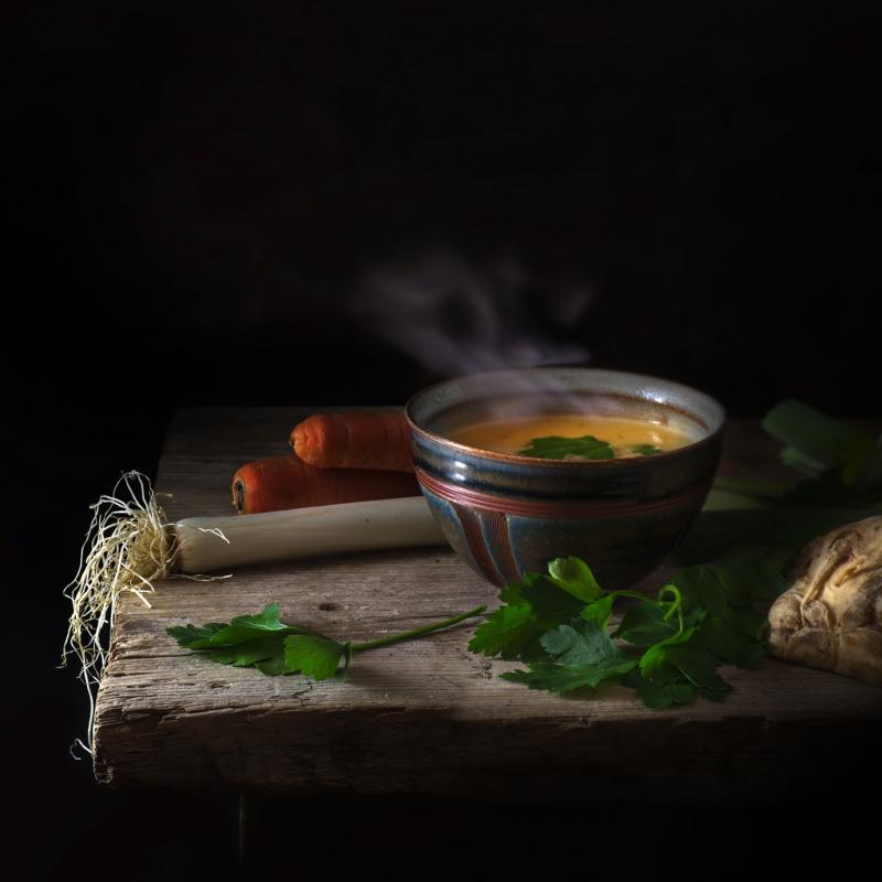 Aromatyczna zupa krem z marchewki i selera