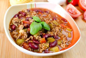 Zupa meksykańska z nutką chilli