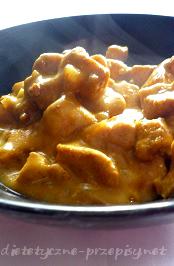 Dietetyczne Curry Z Kurczaka Z Ryzem